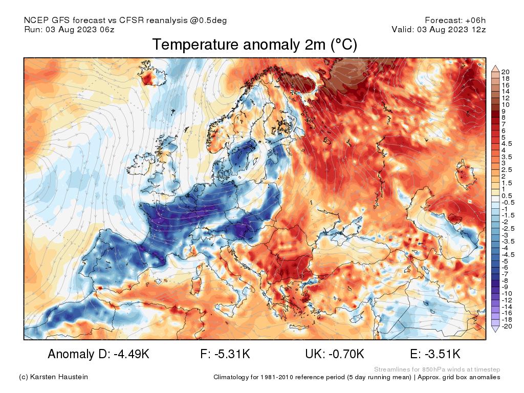 anomalie termiche europa